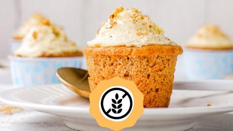 Pastelería saludable con harinas integrales sin gluten.