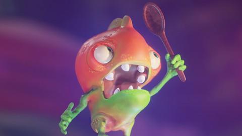 Producción de Criaturas Cartoon 3D en Blender