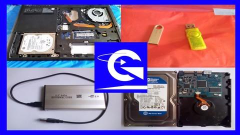 Recuperación de Datos, Discos Duros, Memorias USB, etc