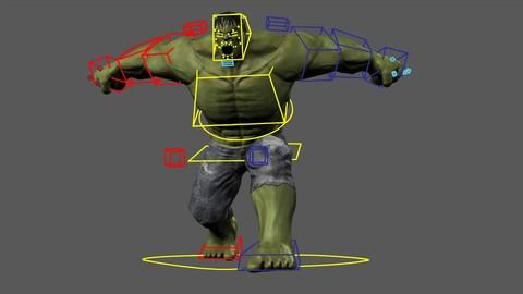 Rigging para personajes en Autodesk Maya