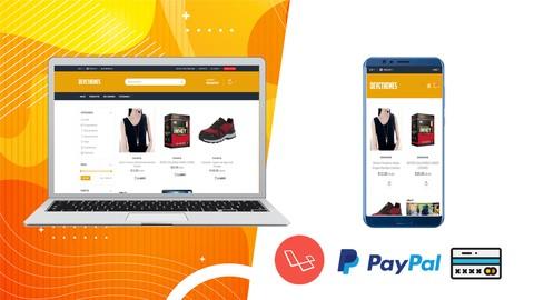 Sistema Ecommerce Basico con Laravel, Paypal y Culqi