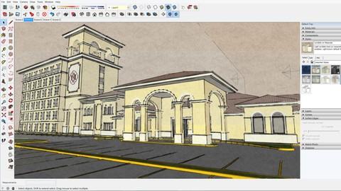 SketchUp para arquitectos o estudiantes de arquitectura