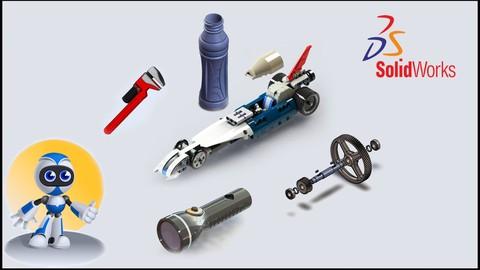 SolidWorks 2D y 3D Desde Cero