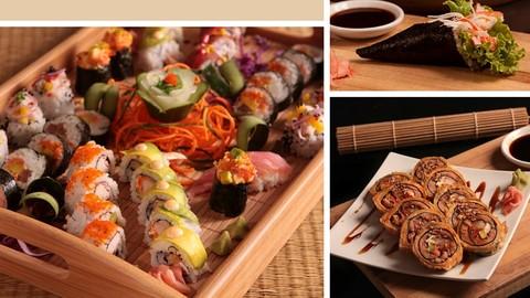 Sushi profesional hecho en tu casa. Sushi hecho en tu cocina