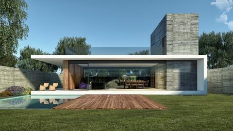 Visualización Arquitectónica V-ray / Corona Renderer